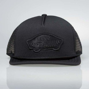 Vans czapka Classic Patch Trucker Hat black VN000H2VBLK