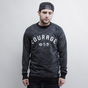 We Peace It bluza crewneck Courage black
