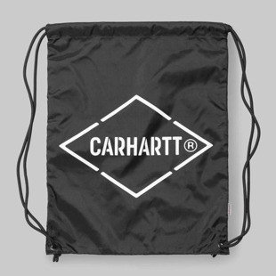Worek na plecy Carhartt WIP Diamond Script Bag black / white