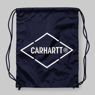 Worek na plecy Carhartt WIP Diamond Script Bag navy / white