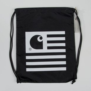 Worek na plecy Carhartt WIP State Bag black / white