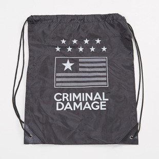 Worek na plecy Criminal Damage CD Flag Gymbag black