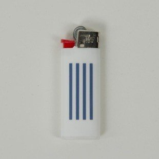 Zapalniczka Carhartt WIP Mini Lighter W.I.P. white / navy