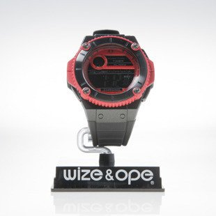 Zegarek Wize & Ope wax-2-3 black / red