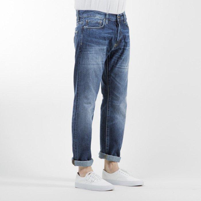 carhartt wip spodnie klondike pant ii edgewood cotton blue. Black Bedroom Furniture Sets. Home Design Ideas