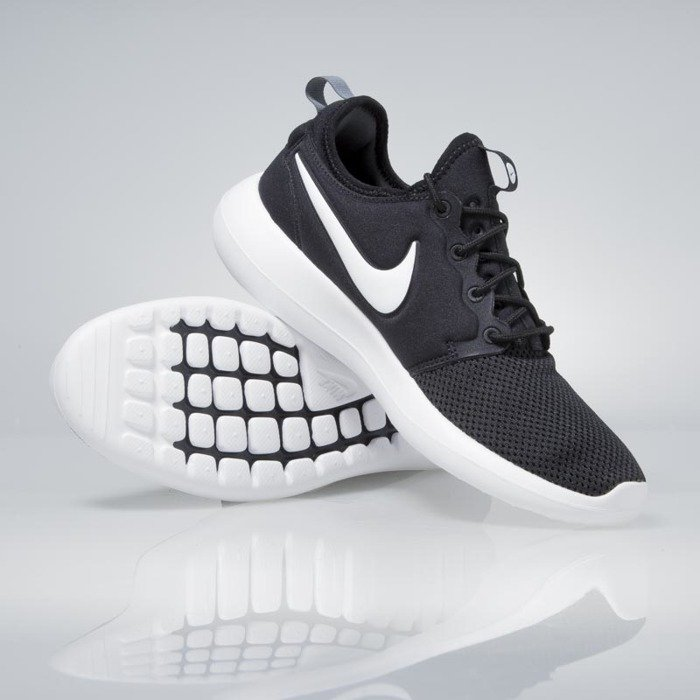 Wmns Cheap Nike roshe two se 2 black white snakeskin women