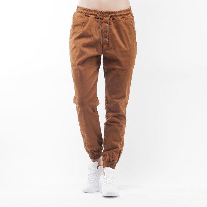 Spodnie Diamante Wear jogger pants u0026quot;Jogger Classicu0026quot; brown WMNS   Bludshop.com