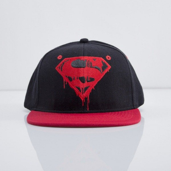 Addict czapka Superman Danger snapback black /red