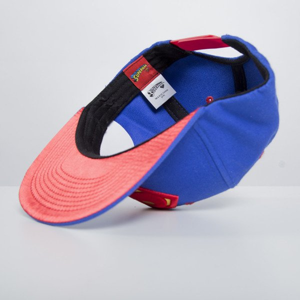 Addict czapka snapback Superman Classic blue / red