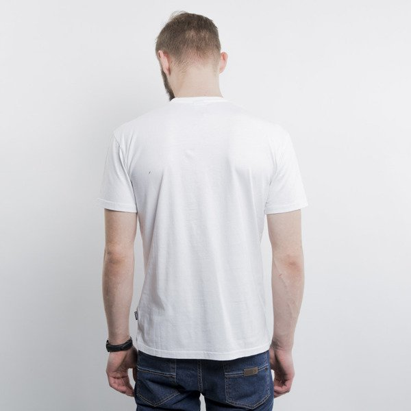 Addict koszulka t-shirt Cutter white
