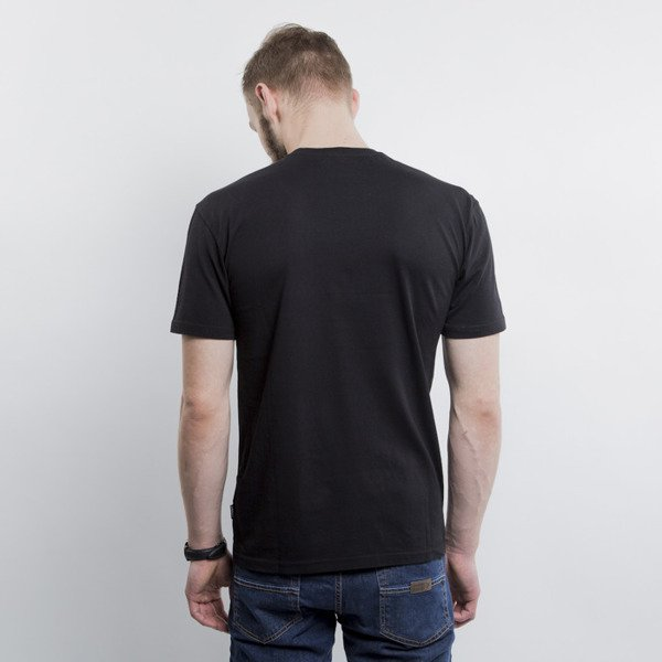 Addict koszulka t-shirt Powder black