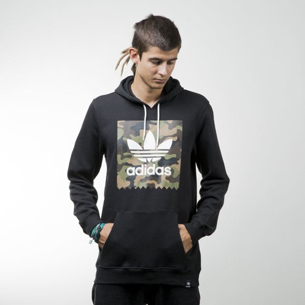 Adidas Original bluza Camo BB HD black AY8897
