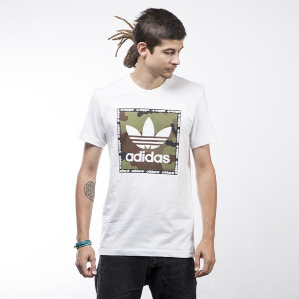 Adidas Originals koszulka t-shirt Camo Box white AZ1087