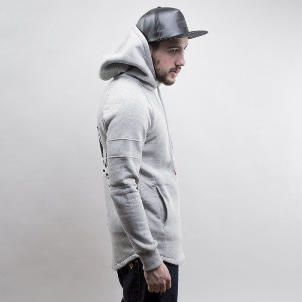 Admirable bluza Wolf Town hoody heather grey