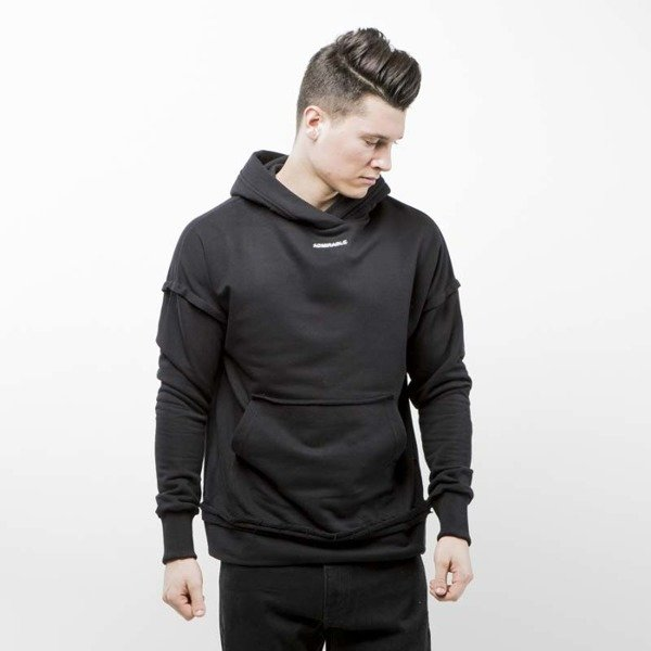 Admirable bluza hoodie Logo Core black