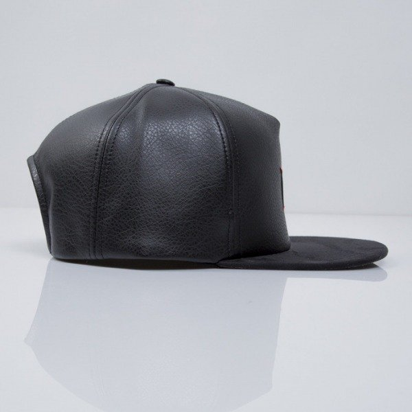 Admirable czapka snapback Wolf Town black