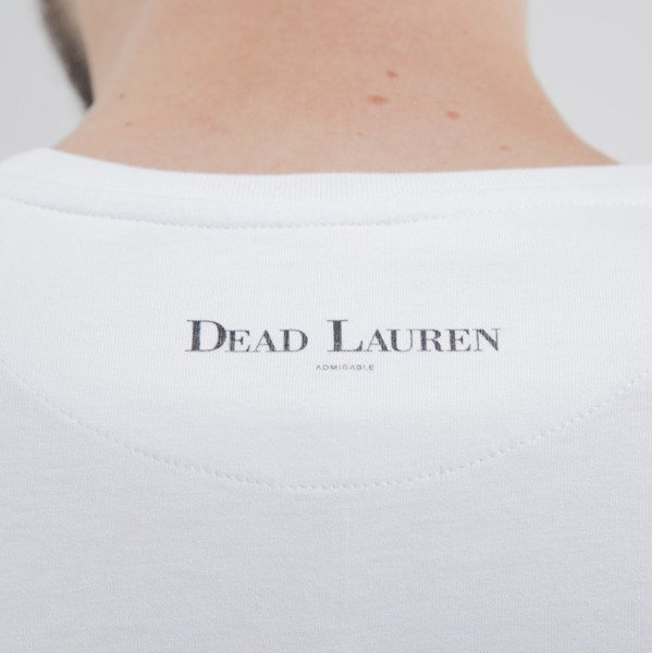 Admirable koszulka t-shirt Dead Lauren Mini white