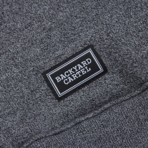 Backyard Cartel bluza Back Hoody dark grey heather