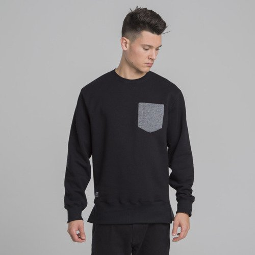 Backyard Cartel bluza sweatshirt Court crewneck black