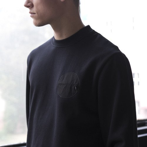 Backyard Cartel bluza sweatshirt Side crewneck black