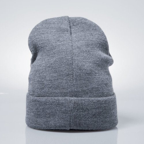 Backyard Cartel czapka zimowa Inset beanie hat dark heather grey