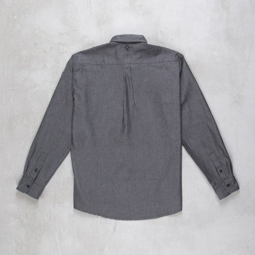 Backyard Cartel koszula Chambray black
