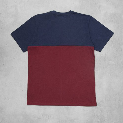 Backyard Cartel koszulka Three Tone claret