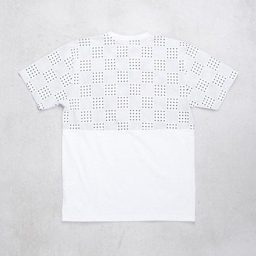 Backyard Cartel koszulka t-shirt Dots Checker Pocket white