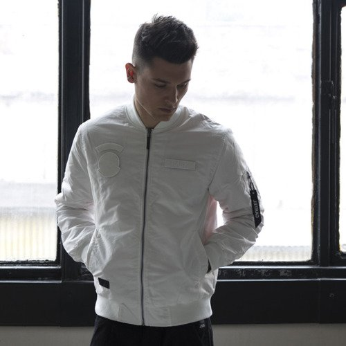 Backyard Cartel kurtka Apocalypse Bomber Jacket white