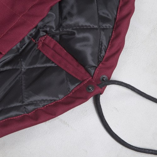Backyard Cartel kurtka zimowa Parka Long long fit claret