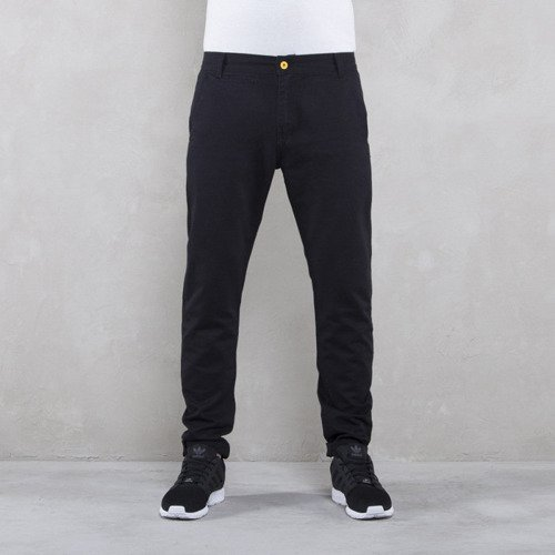 Backyard Cartel spodnie Chinos Back anti fit black