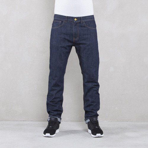 Backyard Cartel spodnie Jeans  BYC Logo tapered fit rinse