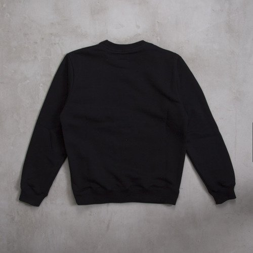 Backyard Cartel x The Avenue bluza  crewneck Acid Pocket black