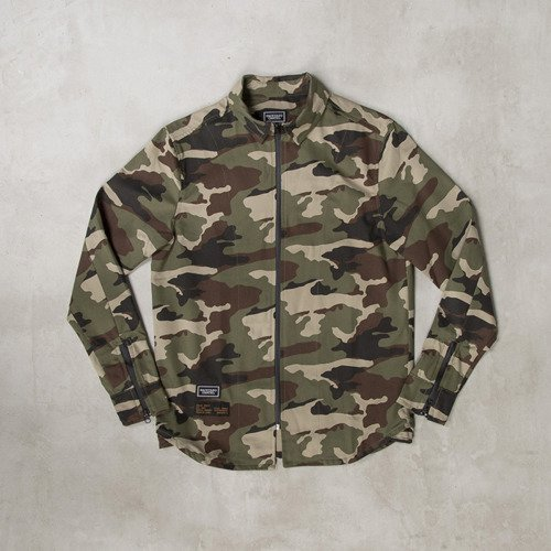 Backyard Cartel x Zulu Kuki koszula shirt ZULU woodland camo LIMITED EDITION