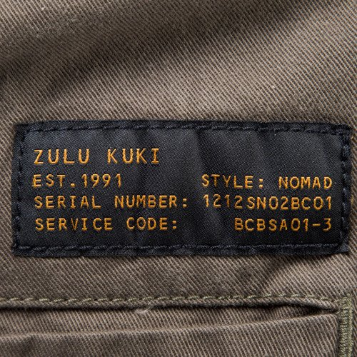 Backyard Cartel x Zulu Kuki spodnie ZULU Jogger military green LIMITED EDITION
