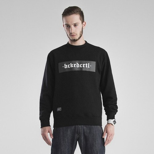 Bluza Backyard Cartel Crewneck Box black