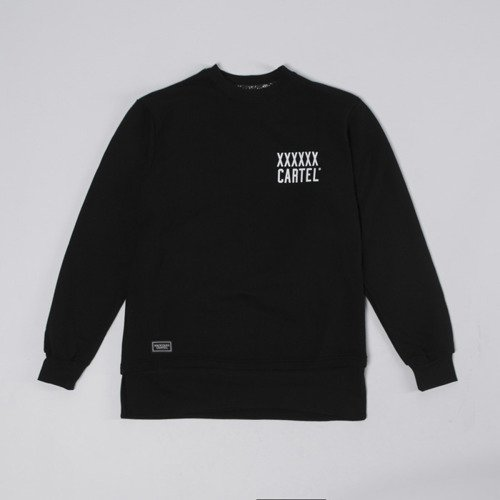 Bluza Backyard Cartel Crewneck Coach black