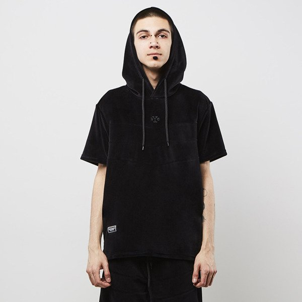 Bluza Backyard Cartel Smooth Short Sleeve Hoody black SS2017