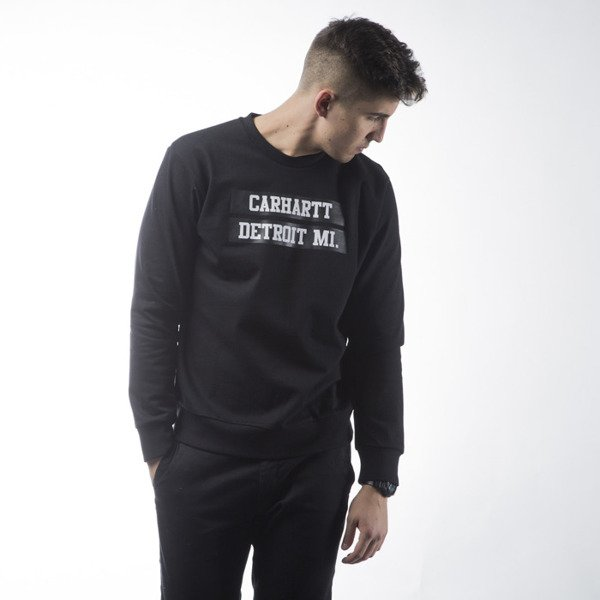 Bluza Carhartt WIP 313 Sweat black / white