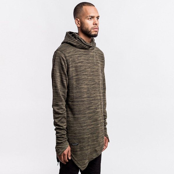 Bluza Cayler & Sons BLACK LABEL Severoz Hoody olive / black BL-CAY-AW16-AP-11-03
