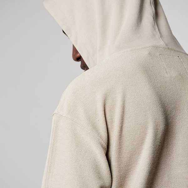 Bluza Cayler & Sons Black Label Twoface Hoody off-white