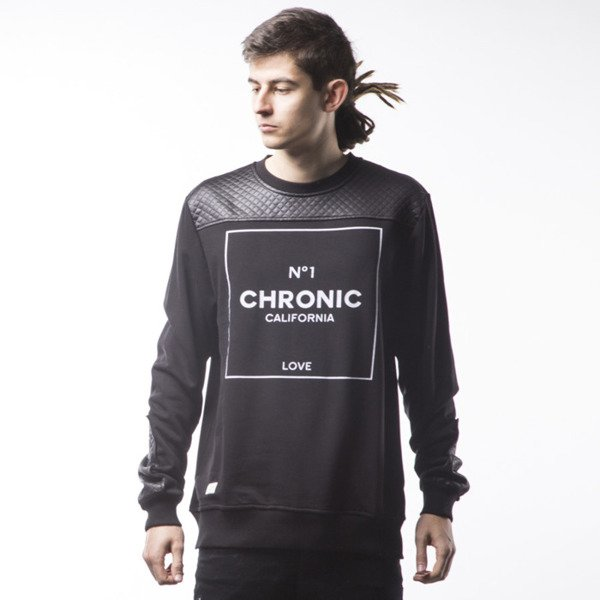 Bluza Cayler & Sons GL Chronic Crewneck black / white (GL-CAY-SS16-AP-03)