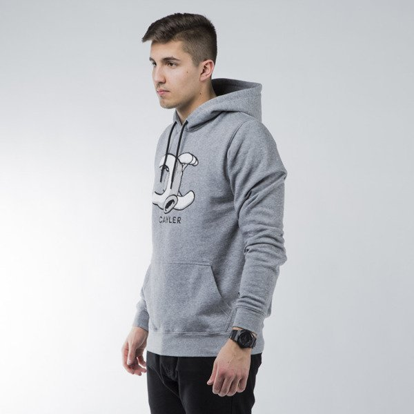 Bluza Cayler & Sons Still No. 1 Hoody grey heather / white / black (CAY-SS15-AP-12-01)