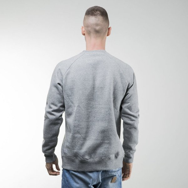 Bluza K1X Barcelona Crewneck grey heather