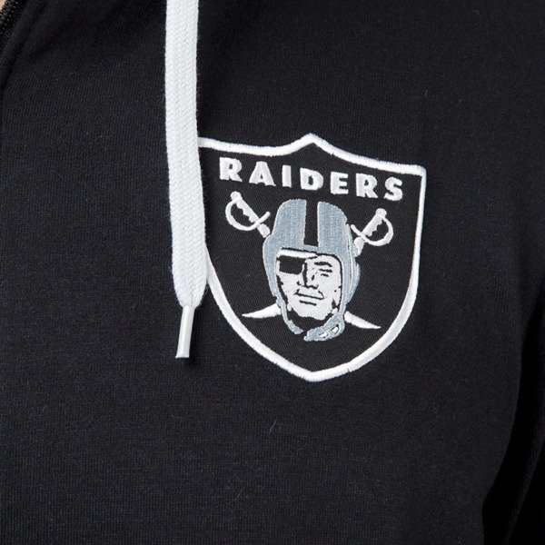 Bluza Majestic Athletic Leptic Full Zip Hood Oaklam Raiders black (MOR1434DB)