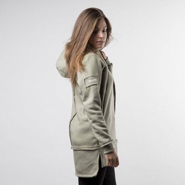 Bluza Majors Long Hoodie olive