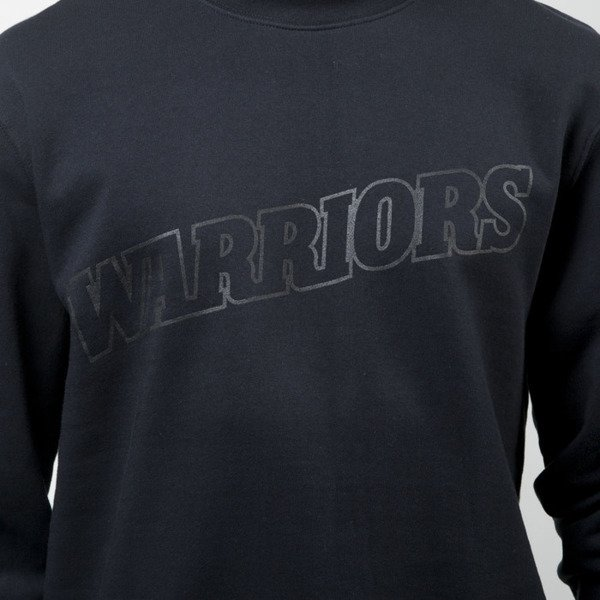 Bluza Mitchell & Ness crewneck Golden State Warriors black Bank Shot