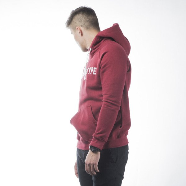 Bluza Phenotype College Hoodie burgundy