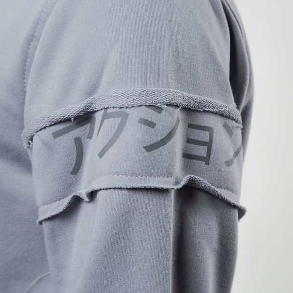 Bluza We Peace It Hoodie Action grey
