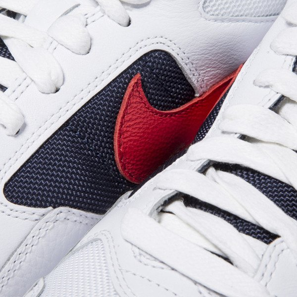 Buty sneakers Nike Air Pegasus '92 Premium white / university red-midnight navy (844964-100)